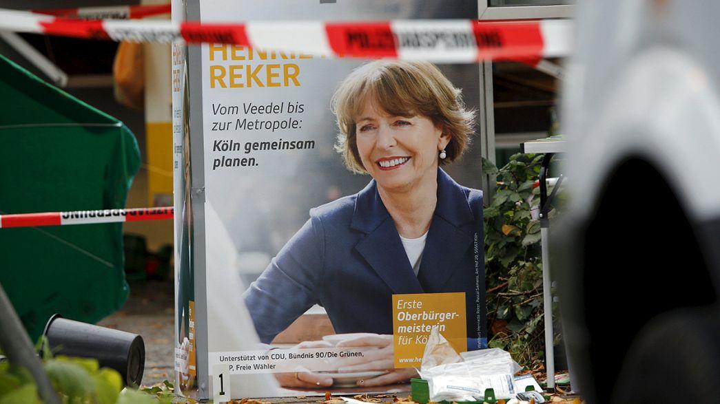 Alemanha: Candidata à câmara de Colónia vítima de crime racista