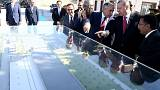 Presidente turco inaugura aqueduto entre Turquia e Chipre