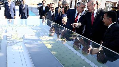 Turkish water begins to flow to northern Cyprus as vast pipeline project goes onstream