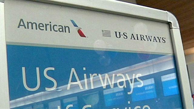 """قيام  أكبر شركة طيران في العالم بعد إندماج """"يو إس إيروايز"""" و """"أمريكان إيرلاينز"""""""