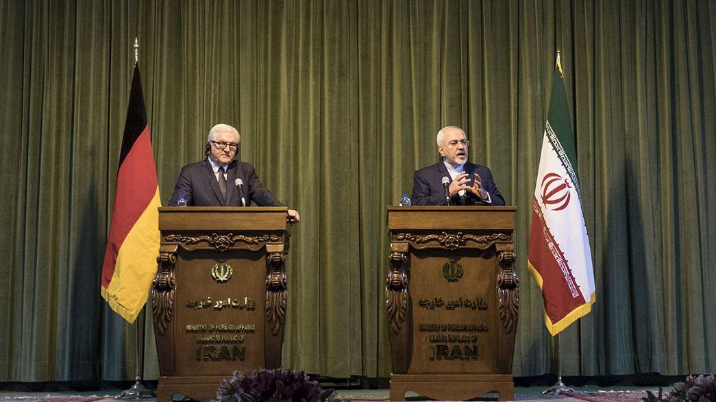 """L'accord nucléaire avec l'Iran, un """"signe d'ouverture"""" pour la diplomatie selon Steinmeier"""