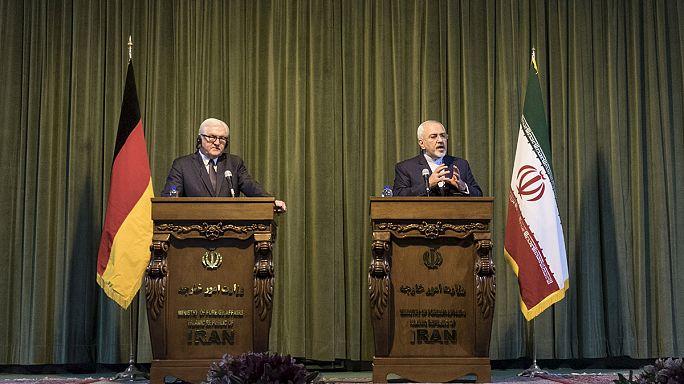 Alman Dışişleri Bakanı Steinmeier'den Tahran çıkartması
