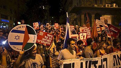 Gerusalemme, israeliani e palestinesi marciano insieme per la pace