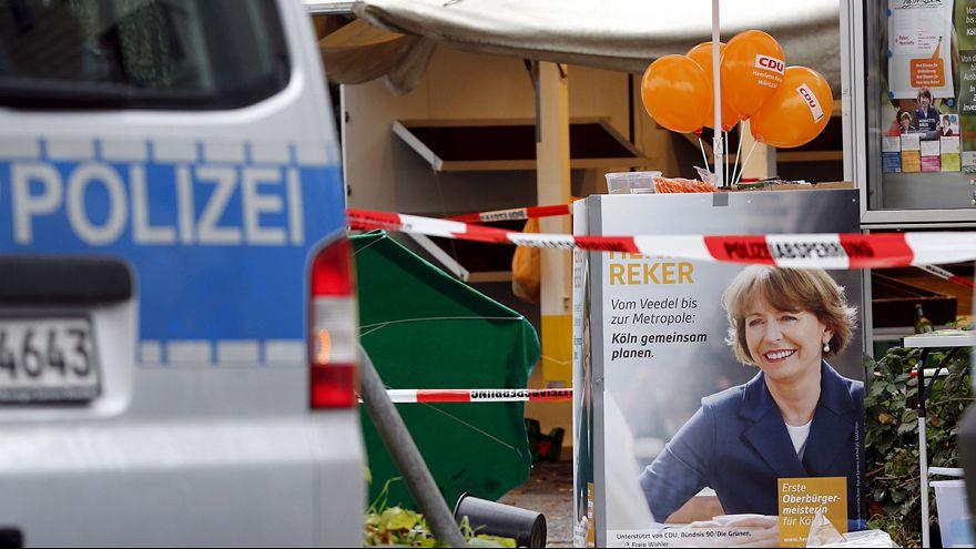 Alemanha: atentado contra candidata às autárquicas de Colónia mobiliza ações de protesto