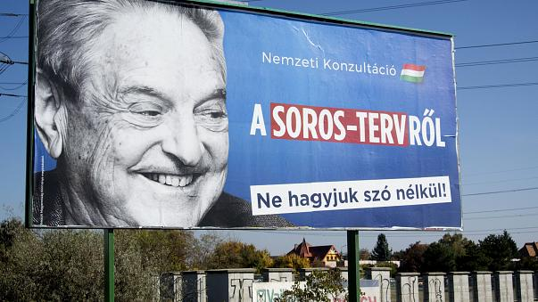 Image: George Soros was villified by right-wing parties in Hungary's recent