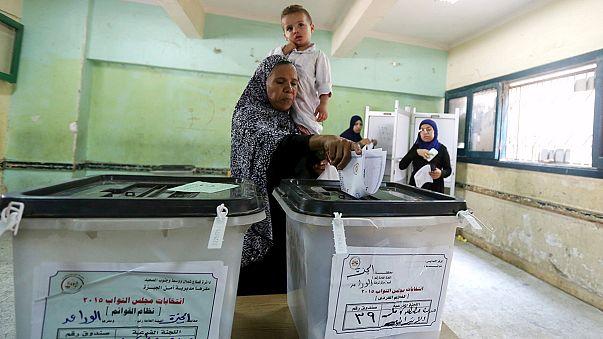 Mısırlı seçmen sandık başında