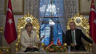 Angela Merkel affirme avoir progressé avec la Turquie sur l'accueil des migrants