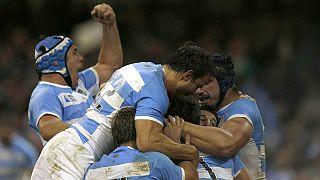 آرژانتین و استرالیا به مرحله نیمه نهایی جام جهانی راگبی صعود کردند