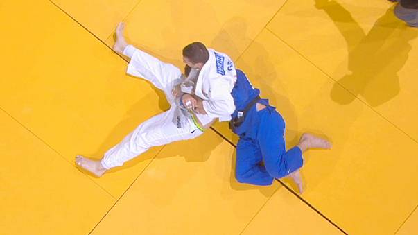 Judo stars shine on super Sunday at Paris Grand Slam