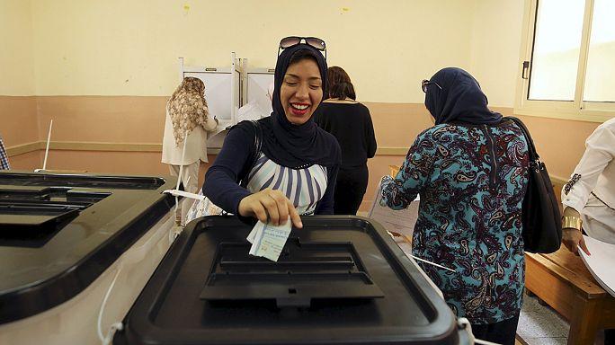 Alig szavaznak az egyiptomiak