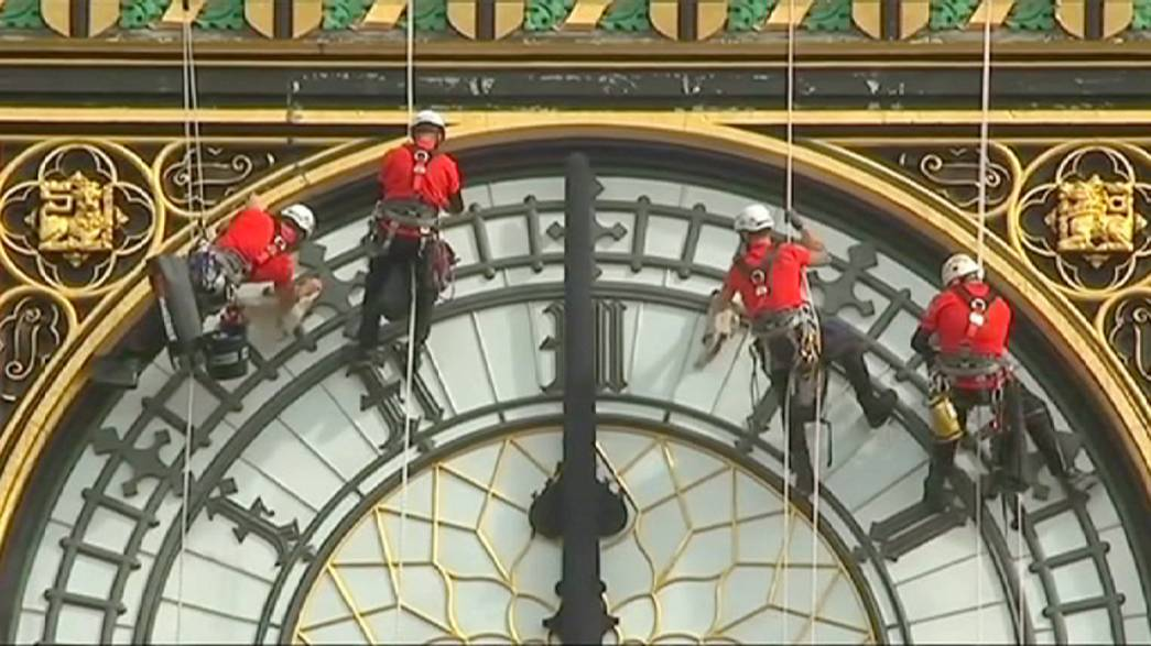 A race against time to save the 'bongs' of Big Ben