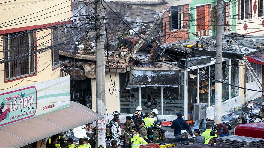 مقتل 5 أشخاص في حادث تحطُّم طائرة صغيرة في بوغوتا