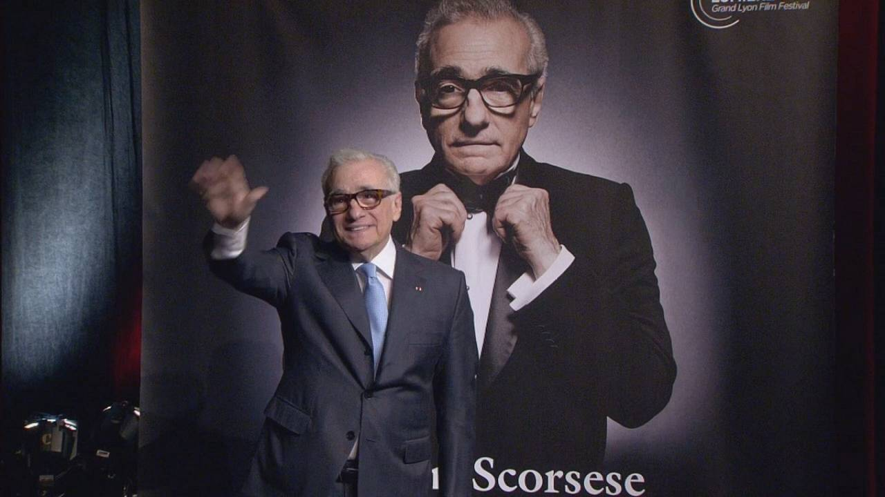 Martin Scorsese honoured at Lyon's Festival Lumière