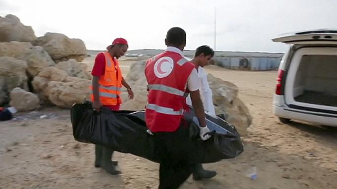 Italie : arrivée en Sardaigne de réfugiés secourus en Méditerranée