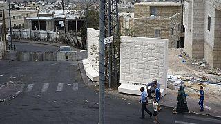 Conflito israelo-palestiniano: O muro da separação