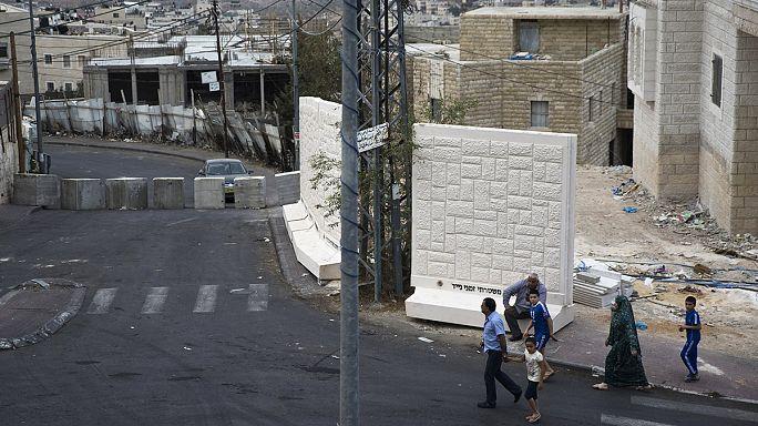 Újabb fal épül Izraelben