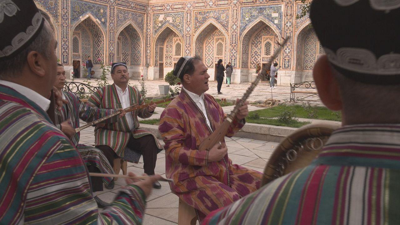 Samarkand's silk road treasures