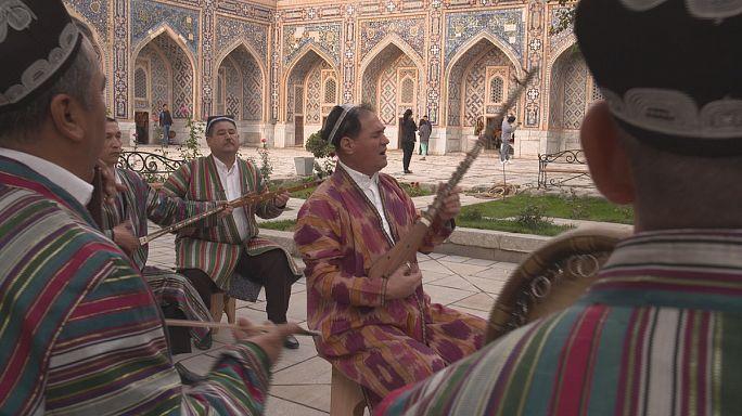 İpek Yolu'nda kültürlerin buluşma noktası: Semerkand