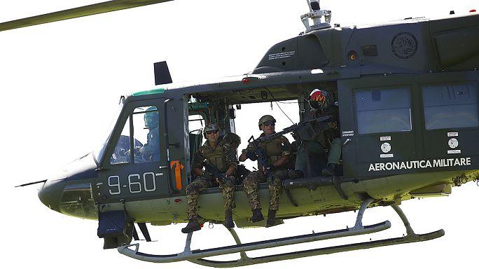 NATO İtalya'da dev tatbikata başladı