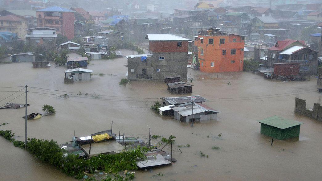 El tifón Koppu deja más de 15 muertos tras arrasar Filipinas