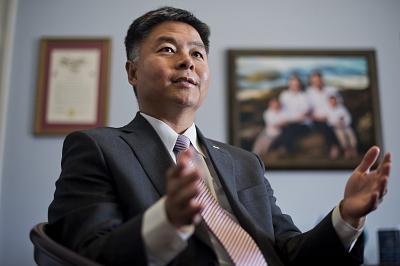 Rep. Ted Lieu, D-Calif., called elimination of the federal cybersecurity coordinator\'s job a \'tragedy\' on Tuesday.