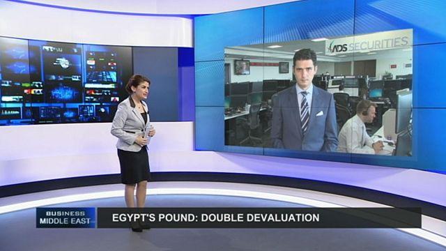 Double dévaluation de la livre égyptienne en une semaine