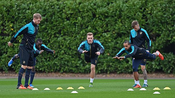 Champions League: Arsenal prepare for stern Bayern test