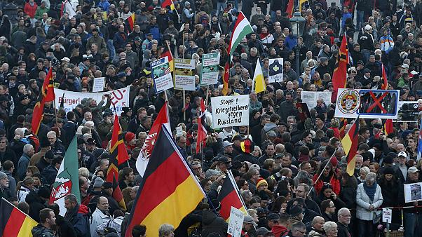 Germania: a Dresda raduno di Pegida e contro-manifestazione