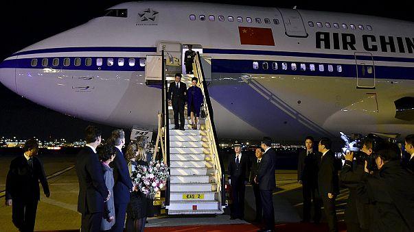 الرئيس الصيني في المملكة البريطانية المتحدة