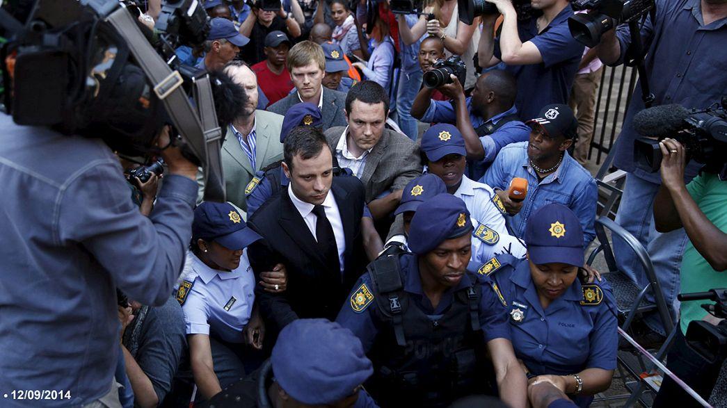 Oscar Pistorius está em prisão domiciliária