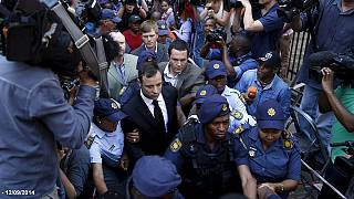 Oscar Pistorius leaves prison in Pretoria