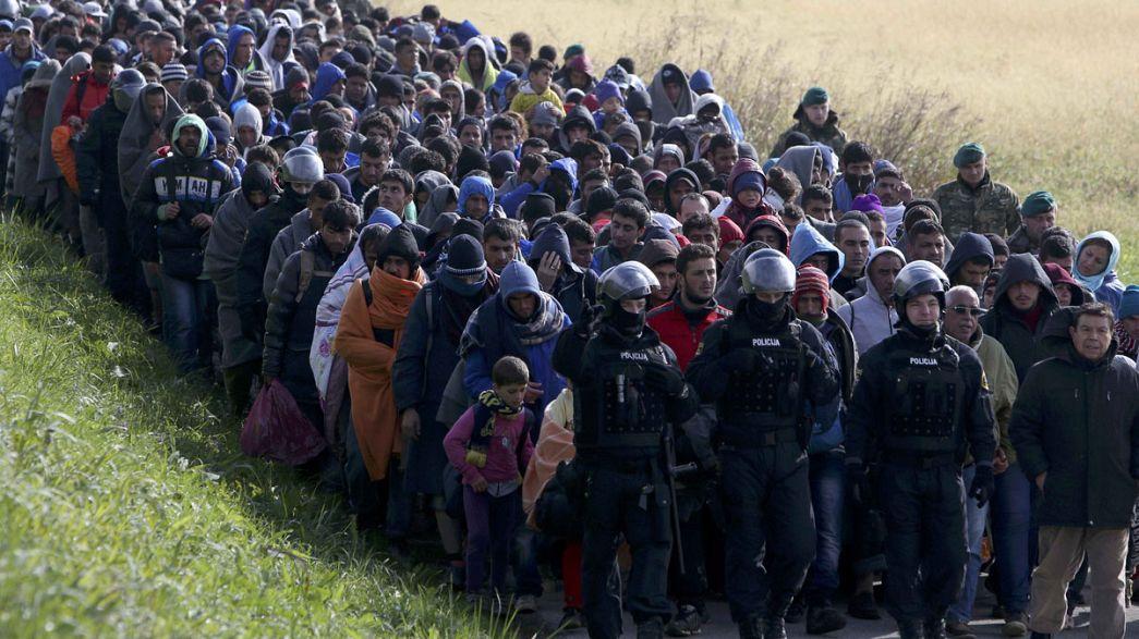 """Slovenya: """"2 milyonluk bir ülkeyiz bu kadar sığınmacıyı kaldıramayız"""""""