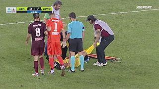 Grecia: salvate il calciatore dai suoi soccorritori