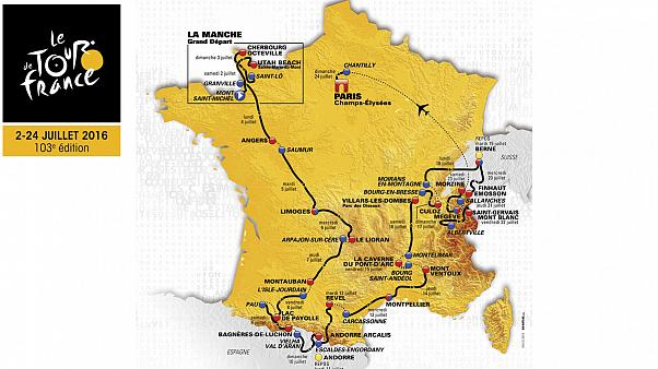 Tour of Peace, Tour of Memory; 2016 Tour de France route unveiled