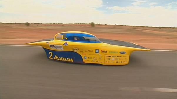 Solar cars try to make hay while the sun shines