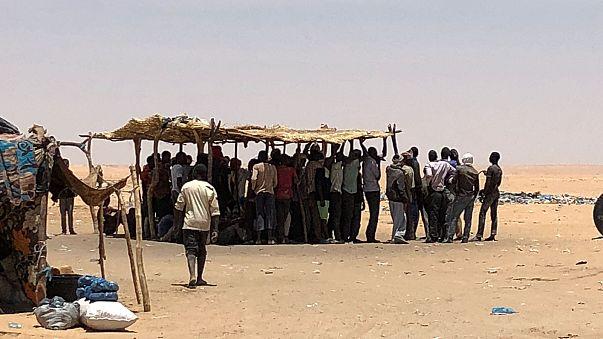 Image: Algeria-Niger border
