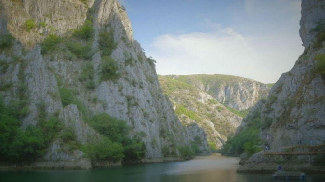 Открытки из Македонии: каньон Матка