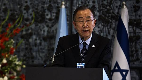 Ban Ki-moon flies to Israel and the West Bank amid spiralling violence