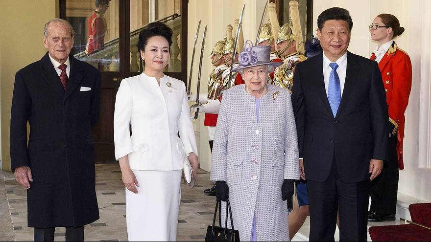 Pomp, ceremony and big business as Chinese president visits UK