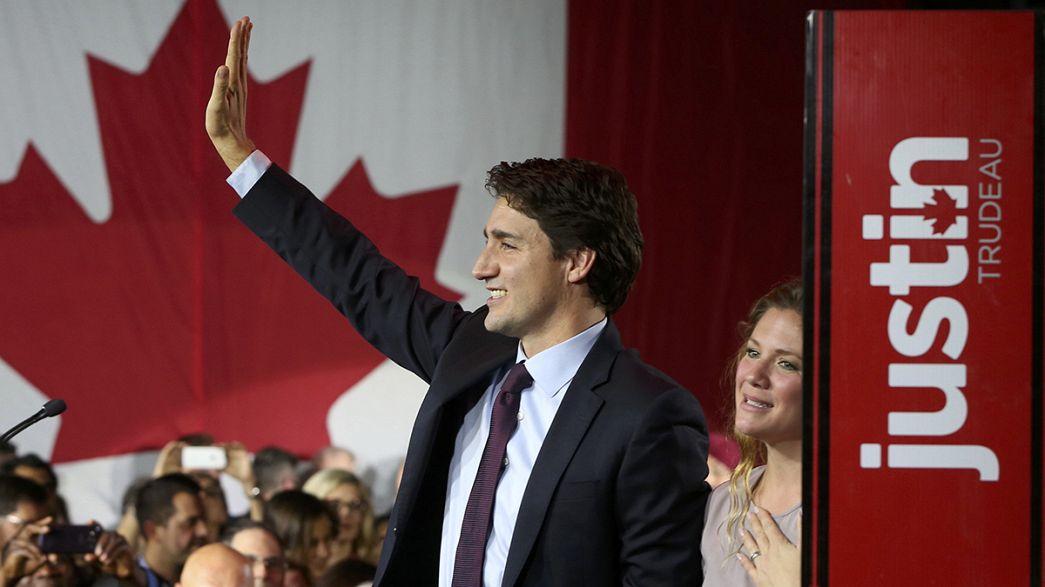 Il liberale Justin Trudeau convince i canadesi, finisce l'era dei conservatori