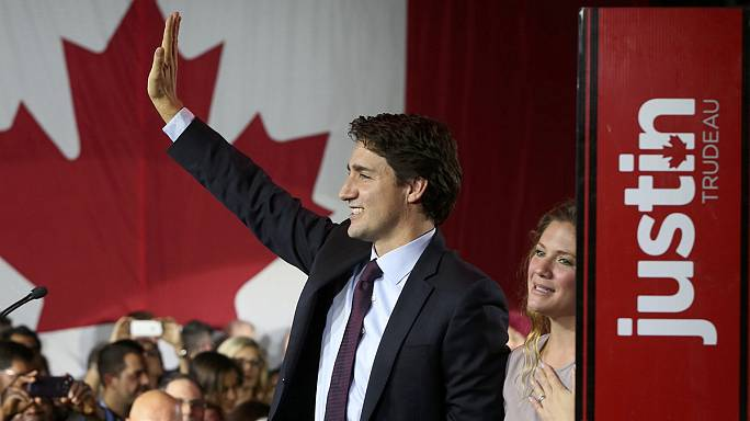 Justin Trudeau sweeps to power in Canada on wave of change and optimism