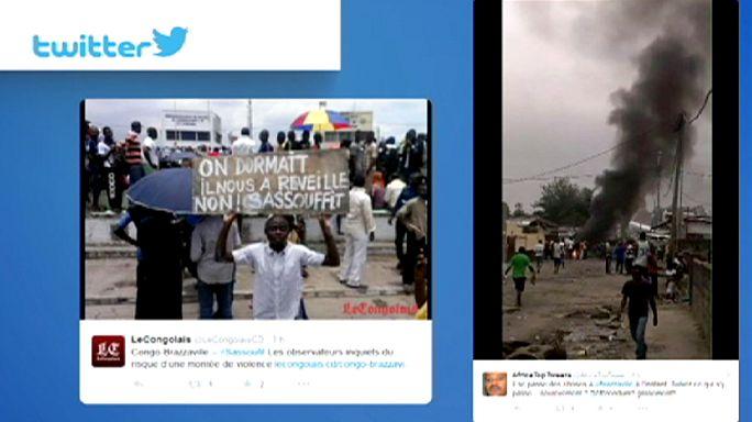 Республика Конго: беспорядки в Браззавиле, есть убитые и раненые