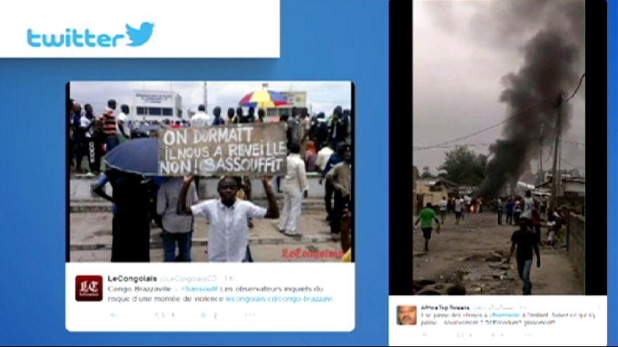 La policía del Congo mata a tiros a varios manifestantes contra la reelección del presidente Sassou