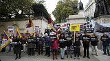 La visite du président chinois en Grande-Bretagne irrite les défenseurs des droits de l'Homme