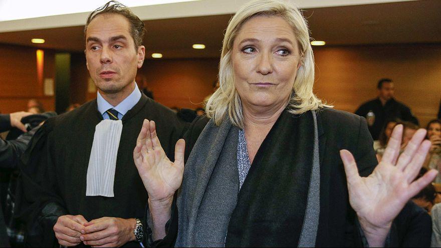 La fiscalía francesa pide la aboslución de Marine Le Pen