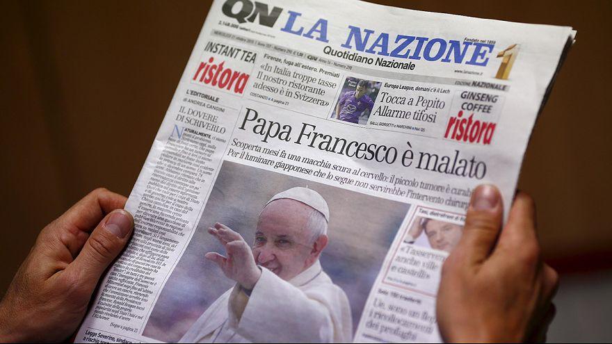 Ватикан опроверг сообщения о наличии опухоли мозга у Папы Римского