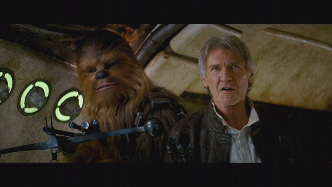Star Wars fever hits Hollywood