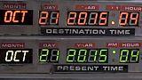 30 ans pile-poil ! La DeLorean de Retour vers le futur arrive ...