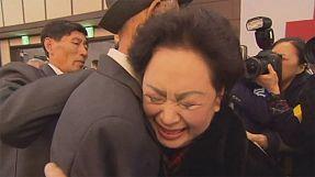 Emotivo reencuentro de familias coreanas separadas por la guerra
