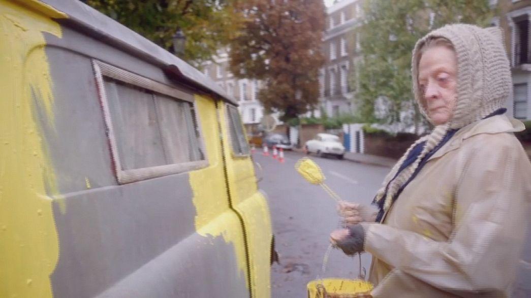 Après le théâtre, Maggie Smith est The Lady in the Van au cinéma